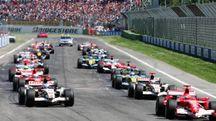 La griglia di partenza dell'ultimo Gp disputato  in Autodromo, nel 2006