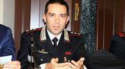 Il capitano Giorgio Guerrini, comandante della Compagnia dei carabinieri di Empoli (Foto Gianni Nucci)
