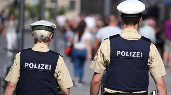 Polizia tedesca (Ansa)