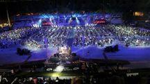 Cesena, Rockin'1000 fa il pieno allo stadio Manuzzi (Ravaglia)