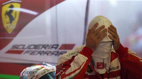 Ferrari da mani nei capelli (LaPresse)