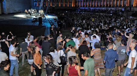 Lo Sferisterio balla con Bregovic (foto Calavita)