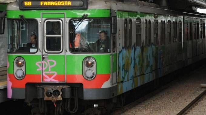 La metropolitana verde, metrò M2 di Milano