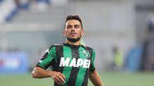 Nicola Sansone, attaccante del Sassuolo, è pronto per il debutto dei neroverdi in Europa League