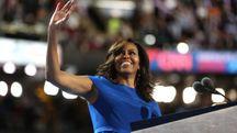 Filadelfia, Michelle Obama alla convention democratica (Afp)