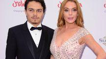 Egor Tarabasov e Lindsay Lohan a un evento benefico (giugno 2016) – Foto: LaPresse