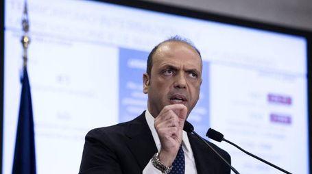 Il ministro dell'Interno, Angelino Alfano (Ansa)