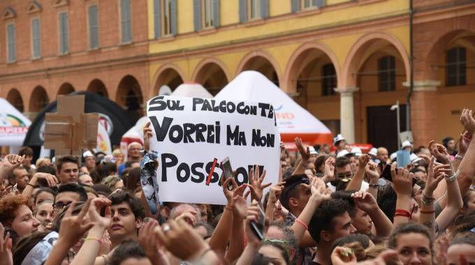 Piazza Roma in delirio per Radio Bruno Estate (Foto Fiocchi)