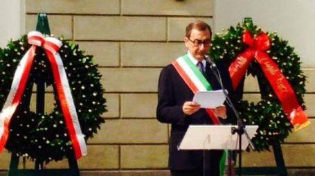 Il sindaco Sala alla commemorazione della strage di via Palestro