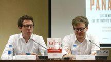I giornalisti tedeschi autori di The Panama Papers – Foto: EFE/JJ Guillen/LaPresse