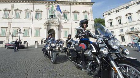 I Corazzieri sulle Moto Guzzi
