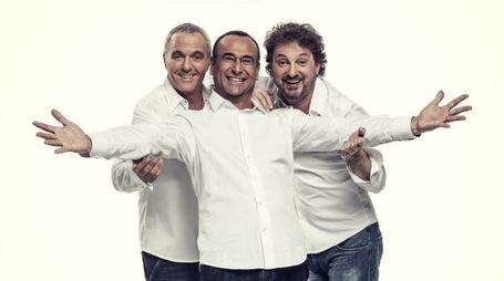 Giorgio Panariello, Carlo Conti e Leonardo Pieraccioni tornano insieme sul palco