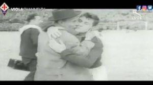 Un frame del video per i 90 anni della Fiorentina