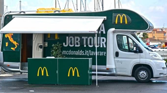 Il camper del 'McItalia Job tour'
