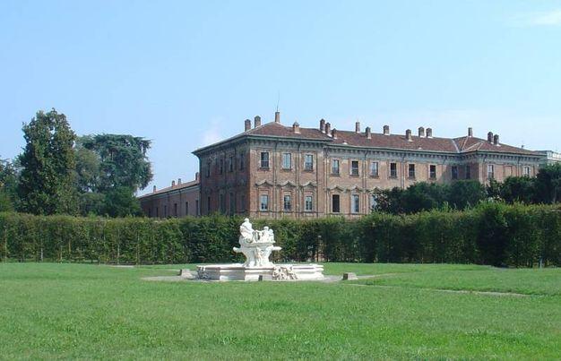 Giardino e palazzo (foto di M. Giuntoli)
