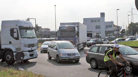 Il traffico sulla Pavese