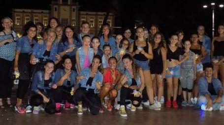 Il gruppo palestra  si è esibito sul palco di 'Notti d'estate' organizzata dalla Pro loco di Porto Viro