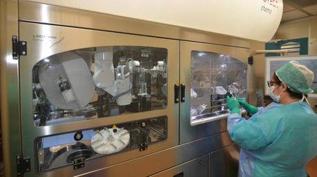 Il nuovo robot per la chemioterapia
