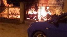 L'incendio a Loreto