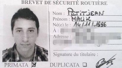 Abdel Malik, uno dei due terroristi di Rouen (AFP)