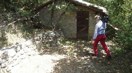 Il luogo dove è stato trovato il cadavere (Attalmi)