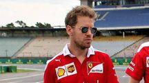 Sebastian Vettel a Hockenheim (Ansa)