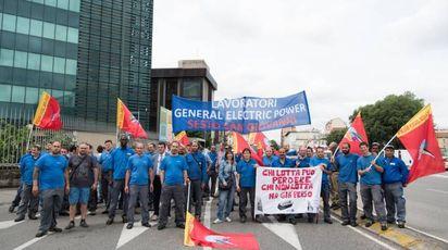I lavoratori in agitazione
