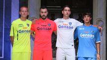 Presentate le nuove divise del club (foto Germogli)