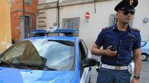 Polizia in azione (foto archivio)