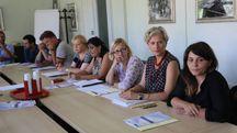 La presentazione  del progetto  di accoglienza messo  a punto dal Circondario