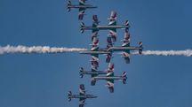Frecce tricolori a Pesaro (Fotoprint)