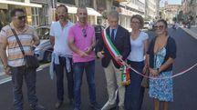 Via Guido Monaco riaperta