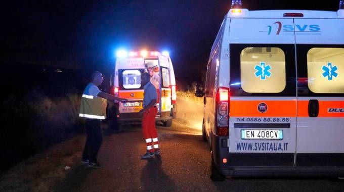 L'incidente (foto Novi)