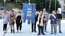 L'inaugurazione insieme al sindaco Luciano Mazza