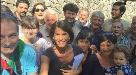 Foto di gruppo con Franceschini (da Facebook)