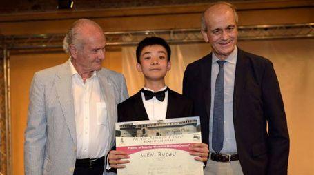 La premiazione di Rougu Wen (foto Gian Luca Liverani)