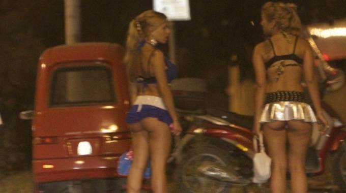 Prostitute al lavoro