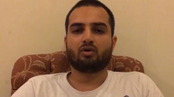 Aftab Farooq nel video dall'hotel in Pakistan