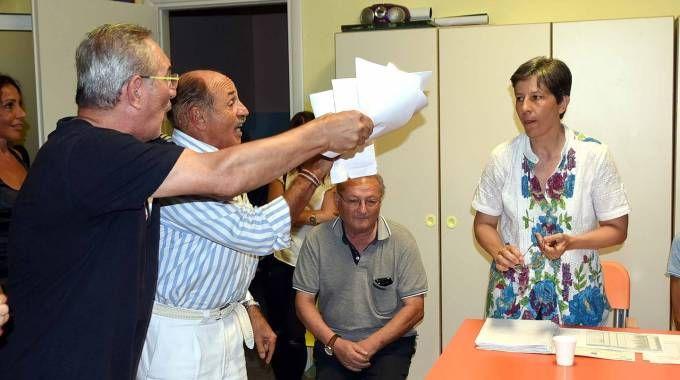 RABBIA I residenti di Gaibanella invocano risposte da parte dell'amministrazione comunale di Ferrara (foto Businesspress)