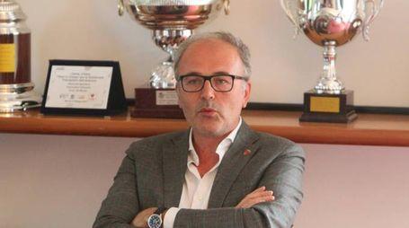 Il presidente Nicola Colombo