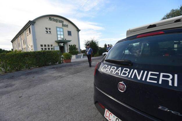 Omicidio a San Pietro in Casale, escort trovata morta in albergo: indagano i carabinieri (Foto Schicchi)