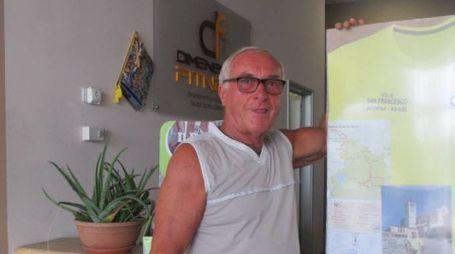 Giancarlo Molteni, 76 anni, milanese di Ceparana