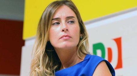 Bologna - 02/09/2014 -  il ministro per le riforme costituzionali Maria Elena Boschi partecipa ad un dibattito pubblico alla Festa Nazionale dell'Unità (Photo by Roberto Serra / Iguana Press)