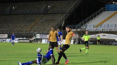 sabato 13 agosto 2016 Ac Prato vs Lucchese  in Coppa Italia di Lega Pro.Foto Giusi Sproviero/Attalmi