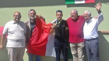 Olimpiadi, il ritorno a casa di Rossetti (Foto Ignudi)