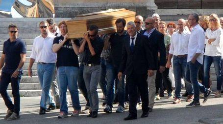 Il funerale di Fabio Maccheroni (foto Umicini)