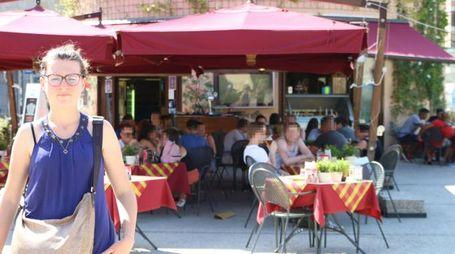 Il locale in piazza Vittorio dove è stato aggredito il personale (foto Valtriani)