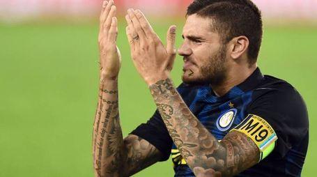 Chievo-Inter, Icardi (Afp)