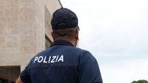 La polizia alla stazione
