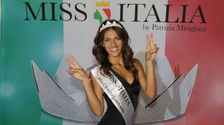 Veronica Manta, 19 anni, sarà alla finale nazionale di Miss Italia